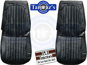 72 Gto And Lemans Sport And Luxury Front And Rear Seat Upholstery Covers Pui New