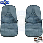 1967 Skylark Front And Rear Seat Covers Upholstery Gs Special Deluxe Pui New
