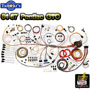 64-67 Gto Classic Update Series Complete Body And Interior Wiring Harness Kit