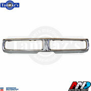 1971 Charger Triple Plated Chrome Front Bumper Brand New Tooling Amd