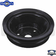 Chevy Small Block Sb Triple Groove Crank Shaft Pulley With A/c Air Conditioning