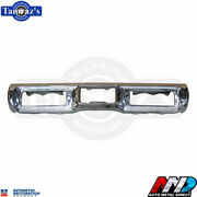 1971 Plymouth B-body Triple Plated Chrome Rear Bumper Brand New Tooling Amd