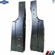 66-67 For Ford Fairlane Trunk Floor To Quarter Panel Side Extension Amd - Pair