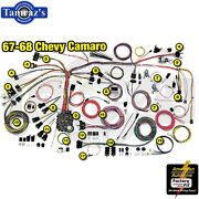67-68 Camaro Classic Update Series Complete Body And Interior Wiring Harness Kit