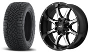 20x9 Moto Metal Mo970 32 Fuel At Wheel And Tire Package 6x5.5 Chevy Silverado