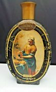 Beam's Choice Collector Whiskey Bottle Decanter By Vermeer Maidservant Pouring