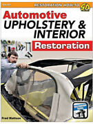 S-a Books Book Automotive Upholstery And Interior Restoration 192 Pagesandhellip Sa393