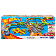 Hot Wheels Colossal Crash Track Set Car Toy Playset Speed Booster Christmas Gift