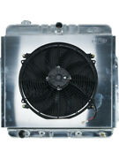 Cold Case Radiators Radiator And Fan 26.2 In W X 25.5 In H X 3 In D Andhellip Fot576ak