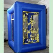 9ft Inflatable Cash Cube Money Machine Advertising Promotion With Blowers New It