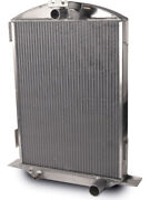 Afco Racing Products Radiator 17 In W X 27 In H X 6-7/8 In D Cen… 80145-s-na-n