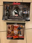 Marvel Legends Toysrus Exclusives Avengers And Xmen Lot No Returns Accepted