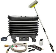 Caraid 12v Portable And Collapsable Pressure Washer, Car Washer With Water Tank