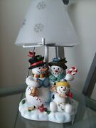 Partylite Snowbell Family Tealight Lamp P7866 W/ Box