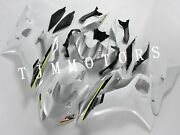 For Yzf R6 2017-2018 Abs Injection Mold Bodywork Fairing Kit Plastic Pearl White