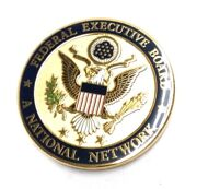 Lot Of 12 Federal Executive Board - A National Network - Challenge Coin 1.75
