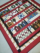 Wrapped In Christmas Handmade King Quilt, 100 Cotton, Machine Quilted