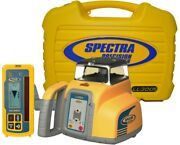 Spectra Precision Ll300s Self-leveling Rotary Laser Level W/ Hl450 Receiver