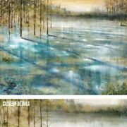 47wx35h Water Trees By Albert Williams - Frozen Winter Pond Choices Of Canvas