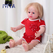 Ivita Silicone Reborn Girl Dolls 22and039and039 Root Hair Baby Has Skeleton Xmas Gifts Toy