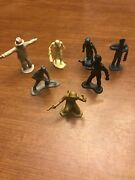 Lot Of Marx Vintage Figures Spaceman Soldiers Toys Space