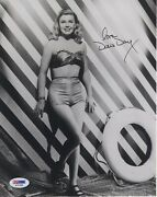 Doris Day Hand Signed 8x10 Photo      Very Young+very Sexy Pose     Psa