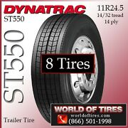 Semi Trailer Tires 24.5 Tires 338 Each St550 Free Shipping