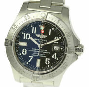 Breitling Avenger A17330 Black Dial Automatic Menand039s Watch_496264
