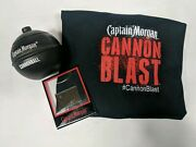 Captain Morgan Cannonblast T-shirt Cannonball Drink Cup And Photo Frame Magnet