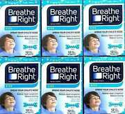6 Boxes X 12and039s Nasal Strip Breathe Right Kids Reduce Snoring Exp2021 Free Ship