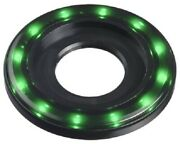Apem Halo Led Indicator Qh22l28gc 12-24v Dc 22.2mm Hole Lead Wires Green