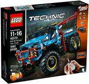 Brand New Lego Technic 6x6 All Terrain Tow Truck Set 42070 Sold Out