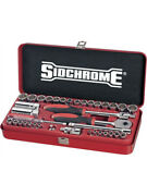 Sidchrome 1/4 And 3/8 Drive Socket Metric And Imperial 38pc Set 19105
