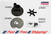 Johnson Evinrude Oem Water Pump And Impeller Kit 379774