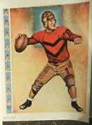 1934 Art Deco Football Program Covers And Posters Catalog Lederer Street And Zeus Co