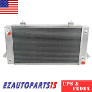 4 Rows Radiator For 1994-1999 98 Land Rover Discovery/1987-1995 Range Rover V8