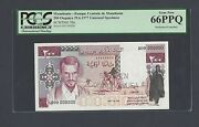 Mauritania 200 Ouguiya 29-6-1977 Specimen Perforated Unissued P3bs Uncirculated