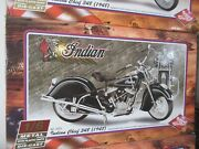 Guiloy Diecast Indian Chief Motorcycle Collection 6 Pieces Nib