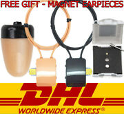 Gsm Neckloop And Spy Magnetic Invisible Earphone Wireless Earpiece Headset