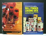 2 Vintage Winchester Ball Powder Loading Data Booklets Catalogs 1985 1973