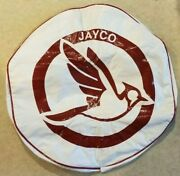 Rv Camper Jayco Bird Logo 19 Dia Classic White And Red Spare Tire Cover