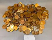 Old Mgm Movie Prop - Lot Of 311 Embossed Gilt Metal Faux Roman Coins - Ben Hur