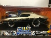 118 Scale Maisto Muscle Machines 1969 Chevrolet Chevelle Ss 396 Diecast Car