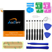 Upgraded Alcatel 1x Evolve 5059z Replacement Battery Tlp024c1 2500mah+17in1 Tool