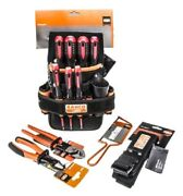Bahco Vde Electricians Tool Kit 4750-etk 10pcs 1000v Cutters Saw Screwdrivers