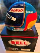 1/2 Scale Helmet Signed By Fernando Alonso Wec Le Mans Toyota Formula 1 Wow