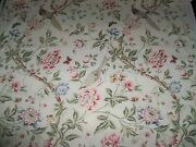 Lee Jofa Kravet Chinoiserie Palace Garden Birds And Floral Fabric 10 Yards Multi