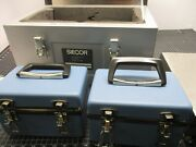 Siecor Optical Cable Attenuation Test Receiver / Transmitter Model M81-00 R / M8