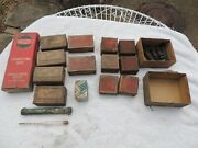 Vintage Auto Parts Lot Assortment Bearings Connecting Rod Springs Float Ect