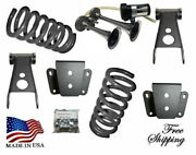 B 1973-1979 Ford F100 F150 3-4 Drop Lowering Coil Spring Shackle Hanger Horn
